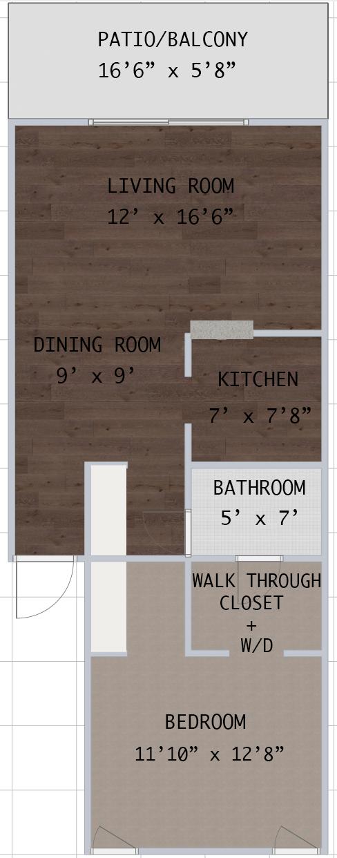 Floorplan - Westshore B1 image