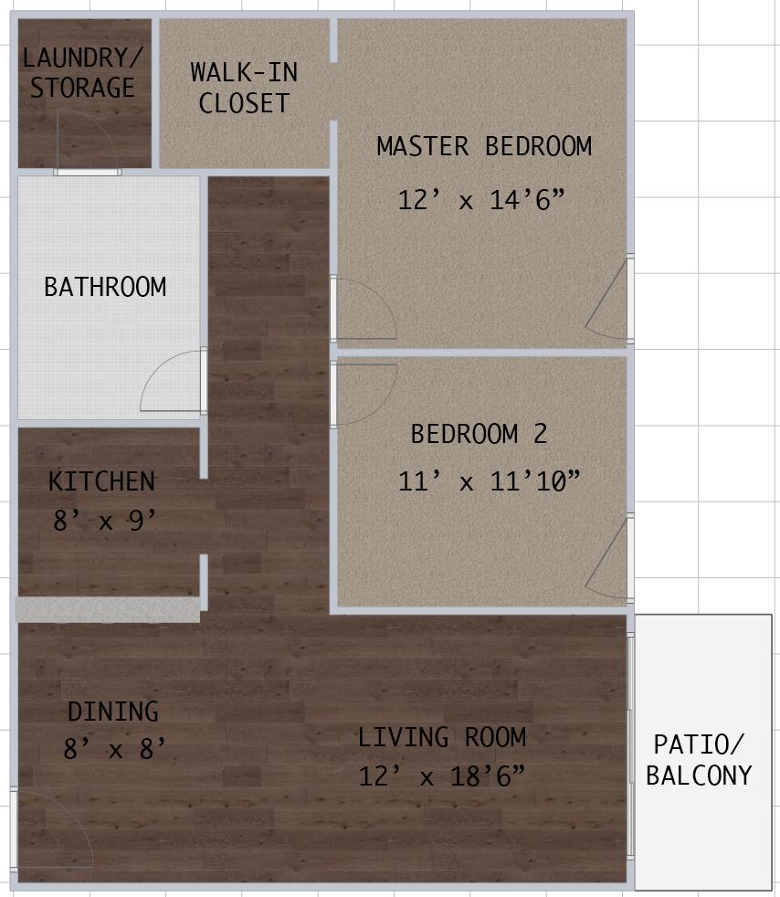 Floorplan - Westshore C2.1 image