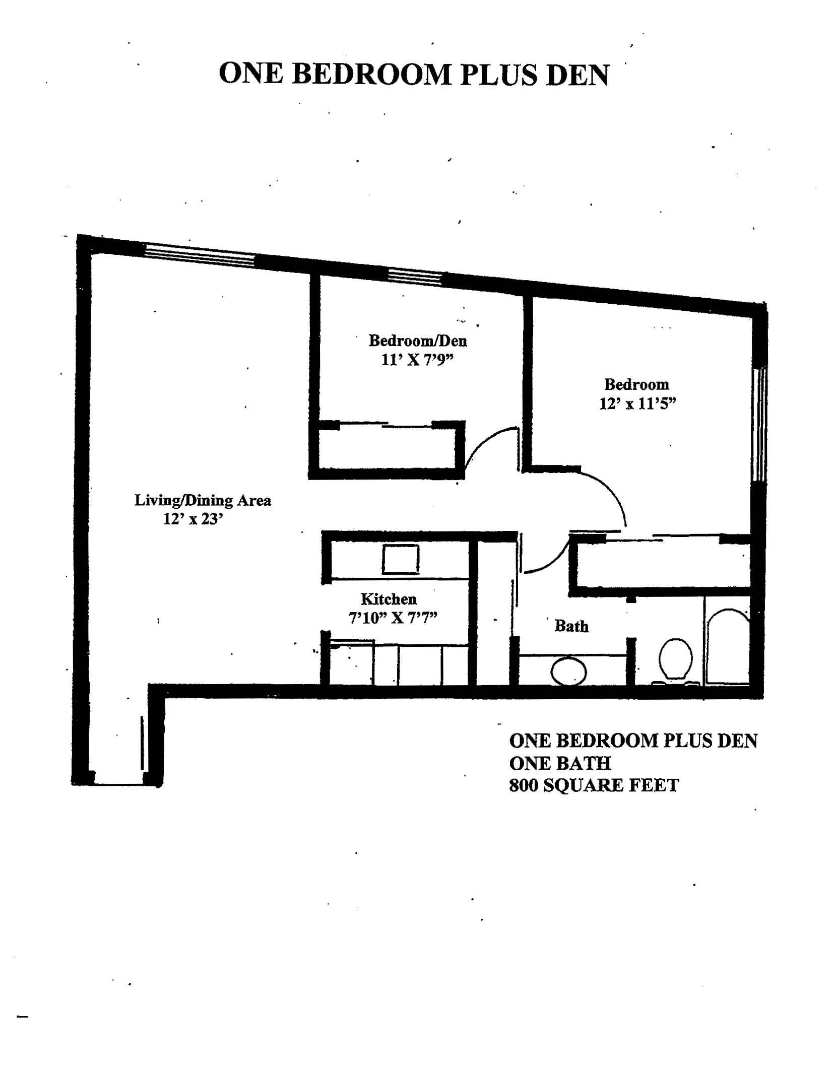 Floorplan - Westshore C1 image