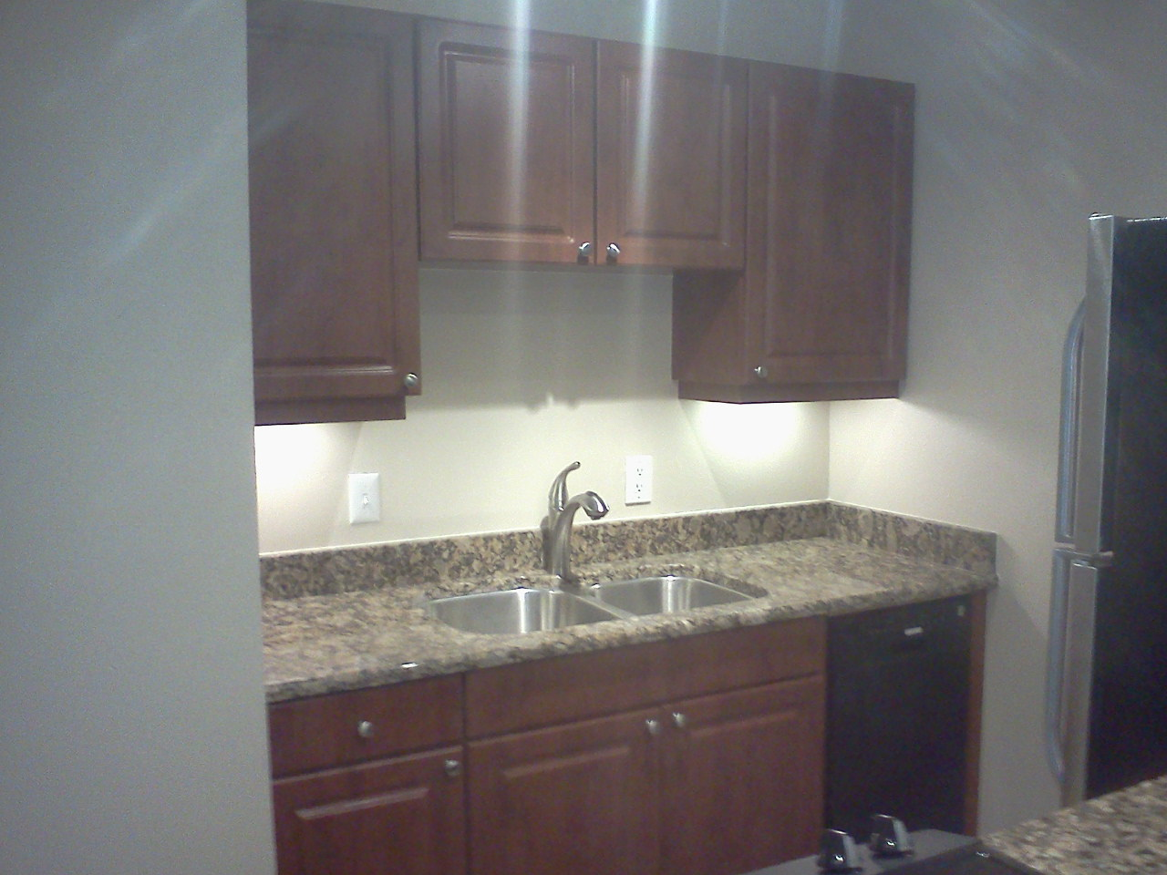 Kitchen Interior at the WestShore Apartments in Tampa, FL