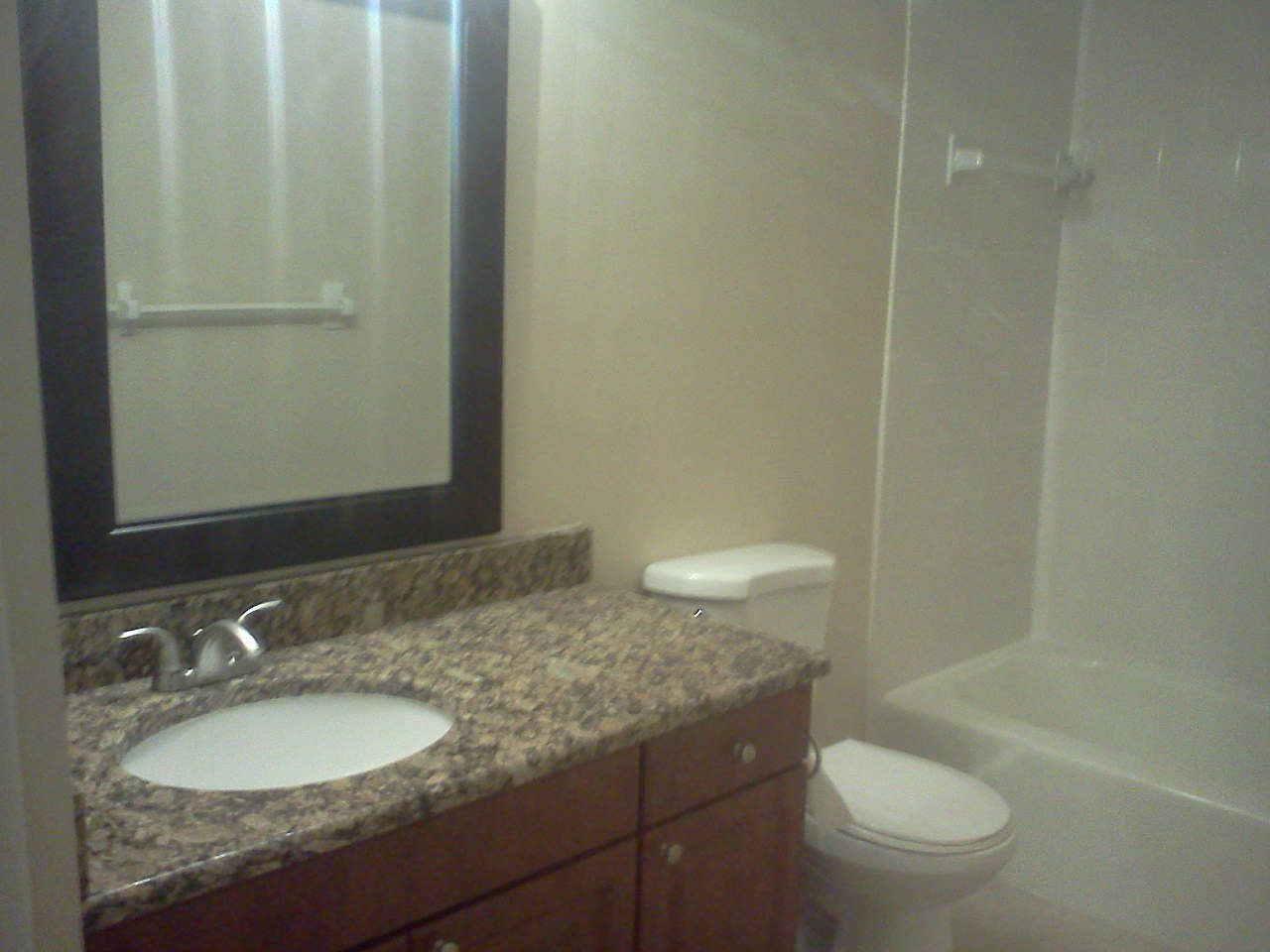 Bathroom at the WestShore Apartments in Tampa, FL
