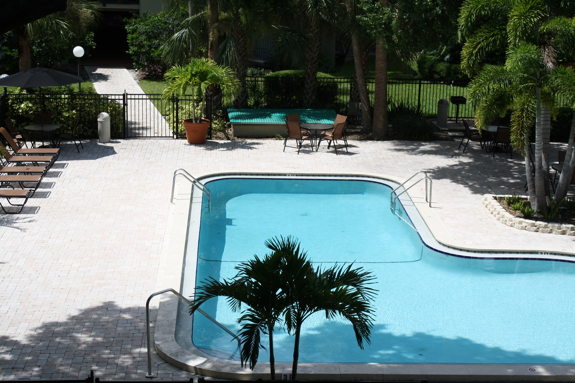 Sparkling Pool at the WestShore Apartments in Tampa, FL