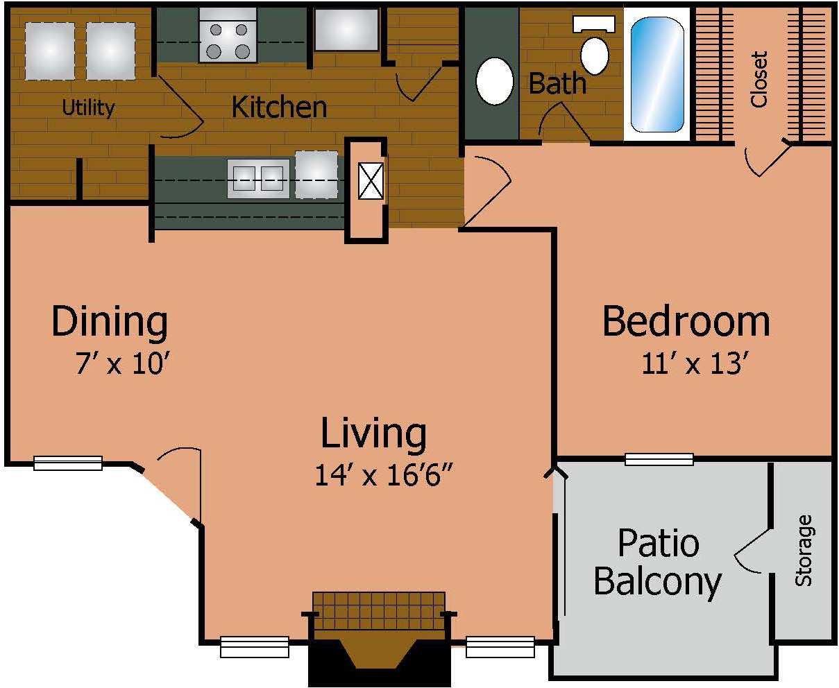 Floorplan - The Premier image
