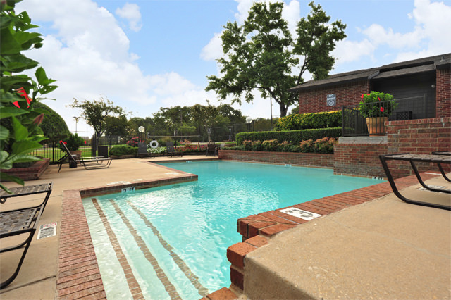 Two Community Swimming Pools at Westwind Apartments in Denton, TX