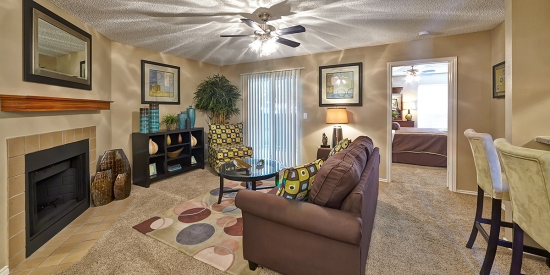 Open Floor Plans at Westwind Apartments in Denton, TX