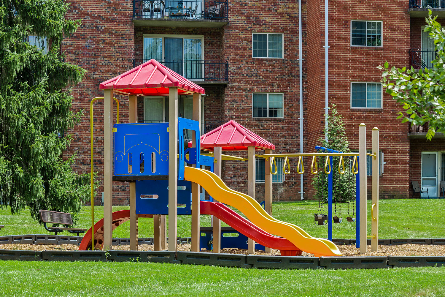 Onsite play area at Whitehall Square Apartments in Suitland, MD