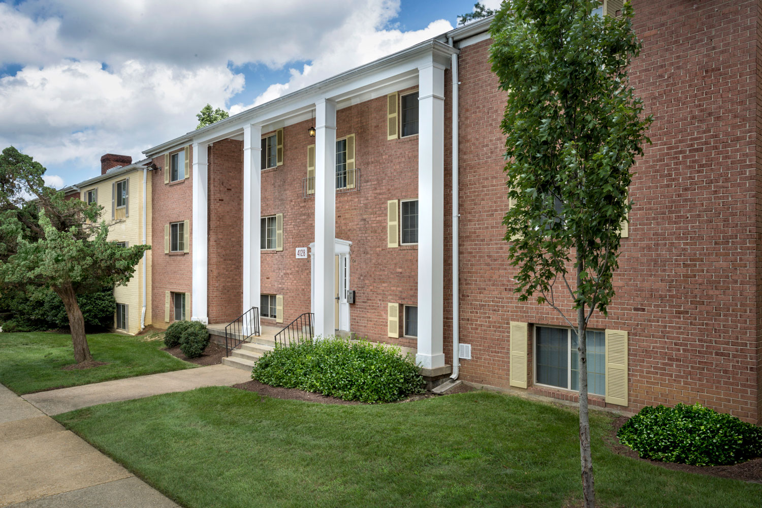 Beautiful architechture at Whitehall Square Apartments in Suitland, MD