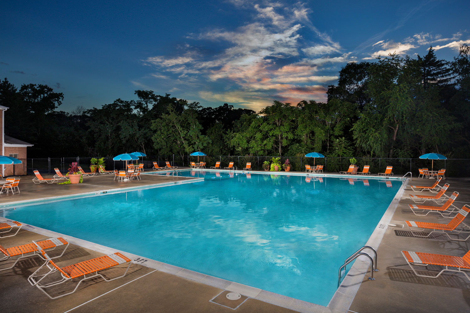 Refreshing swimming pool at Whitehall Square Apartments in Suitland, MD