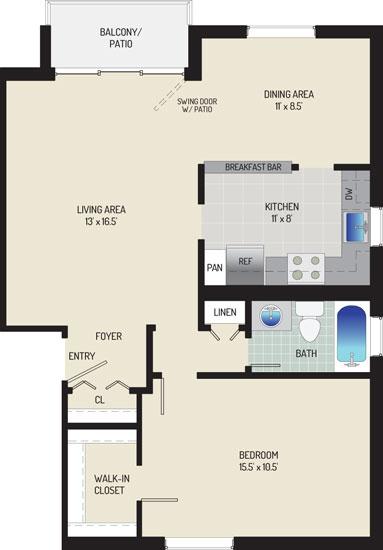 Whitehall Square Apartments - Apartment 054158-102-F2