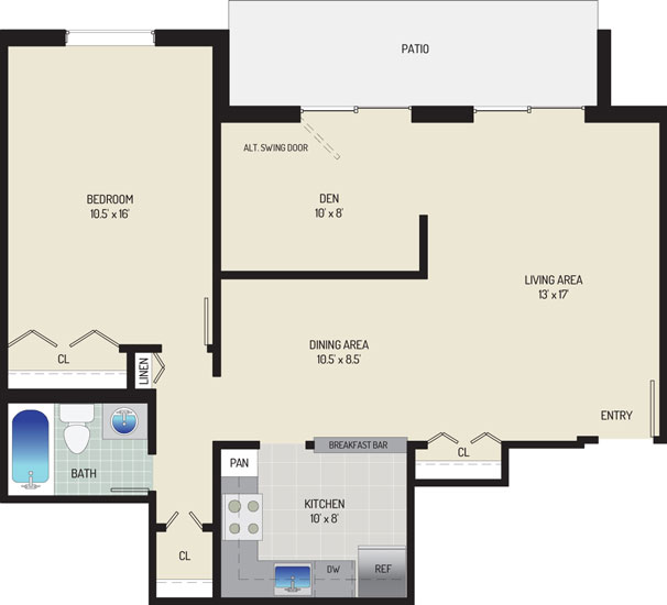 Whitehall Square Apartments - Apartment 054168-101-I2