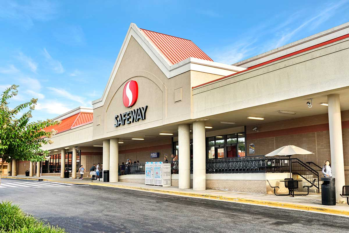 Safeway is 10 minutes from White Oak Towers Apartments in Silver Spring, MD
