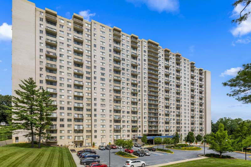 Studio, 1, 2, 3, and 4-bedroom apartments at White Oak Towers Apartments in Silver Spring, MD