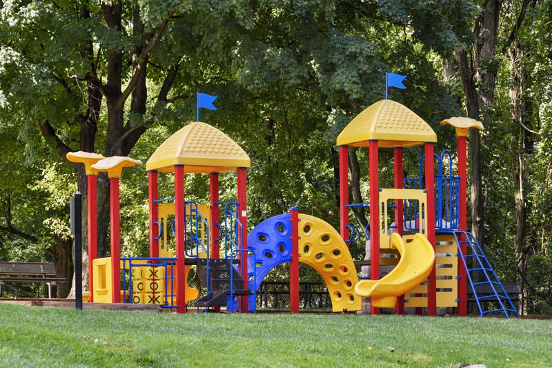 Play area at White Oak Towers Apartments in Silver Spring, MD