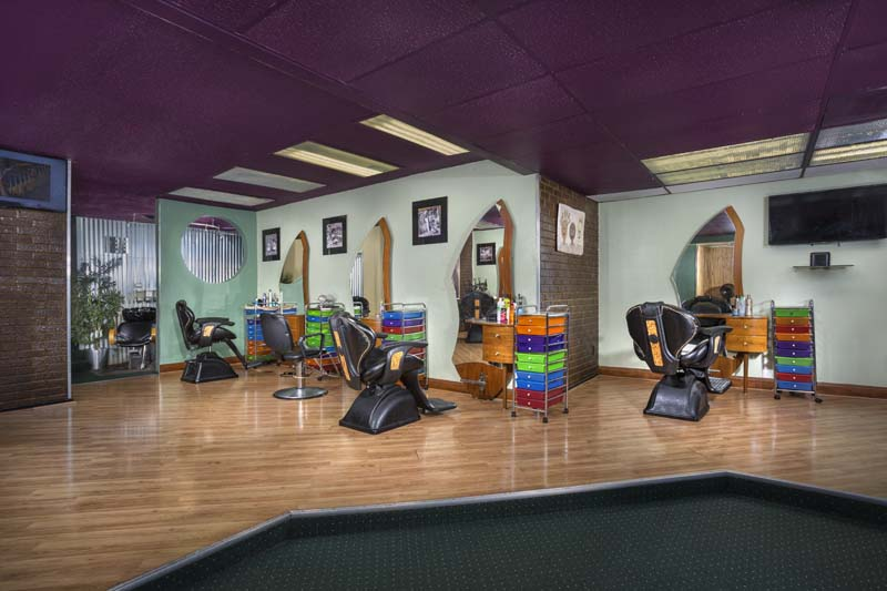 Onsite hair salon at White Oak Towers Apartments in Silver Spring, MD