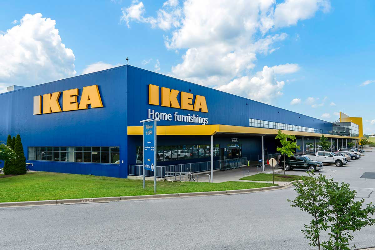 IKEA is 15 minutes from White Oak Towers Apartments in Silver Spring, MD