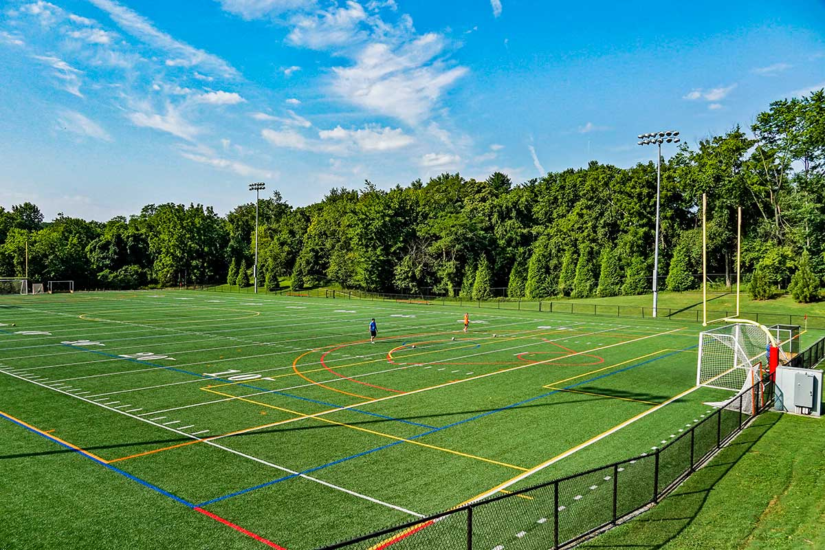 Soccer field 5 minutes from White Oak Towers Apartments in Silver Spring, MD