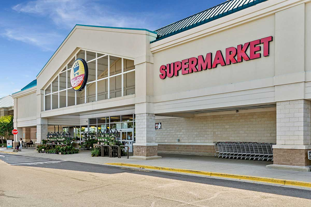 Shop Rite is 10 minutes from White Oak Towers Apartments in Silver Spring, MD