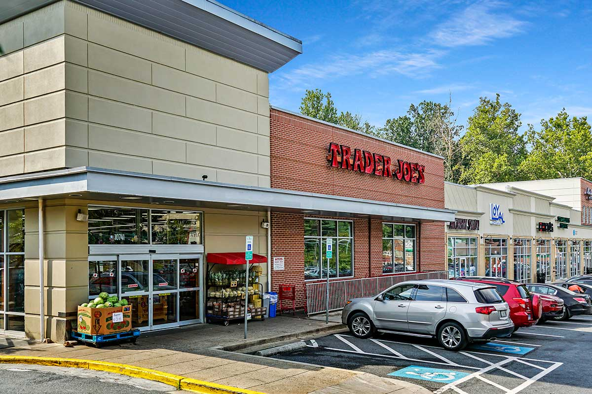 Trader Joe's is 8 minutes from White Oak Towers Apartments in Silver Spring, MD