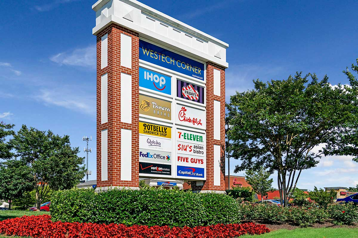 5 minutes to Westech Corner shopping center in Silver Spring, MD