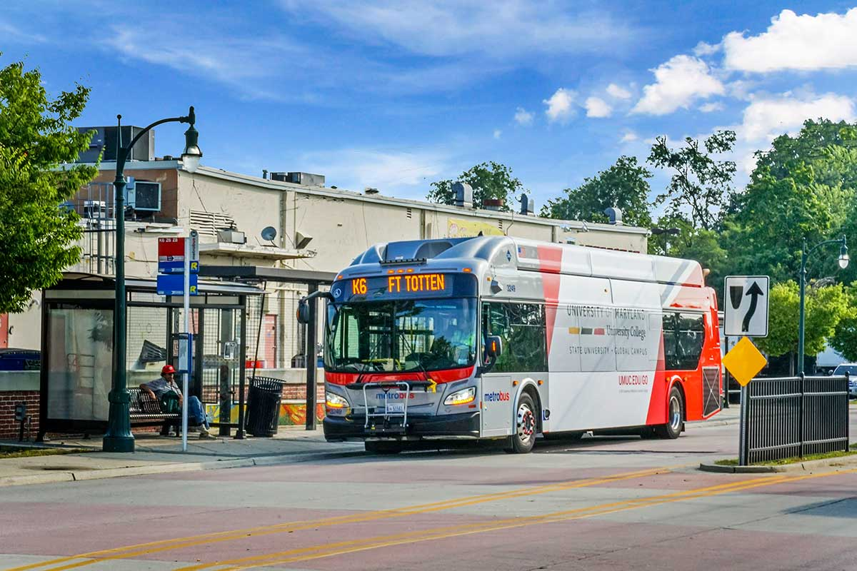 5 minutes to White Oak Transit Center - free shuttle from White Oak Towers Apartments