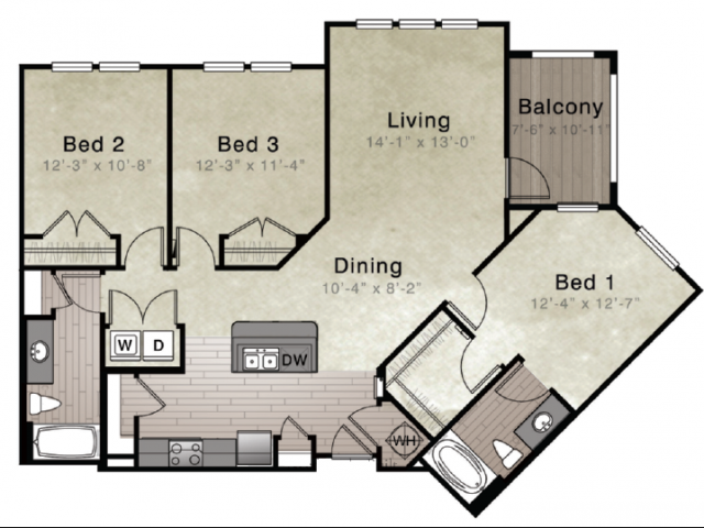 Floorplan - Kentia image