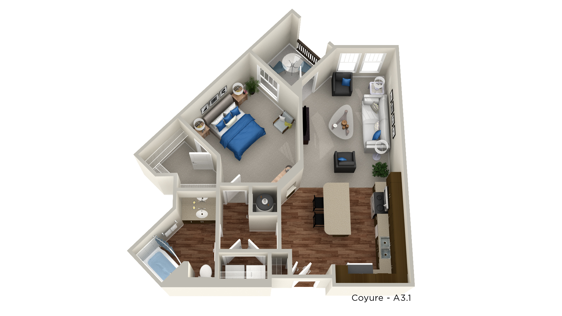 Floorplan - Coyure image