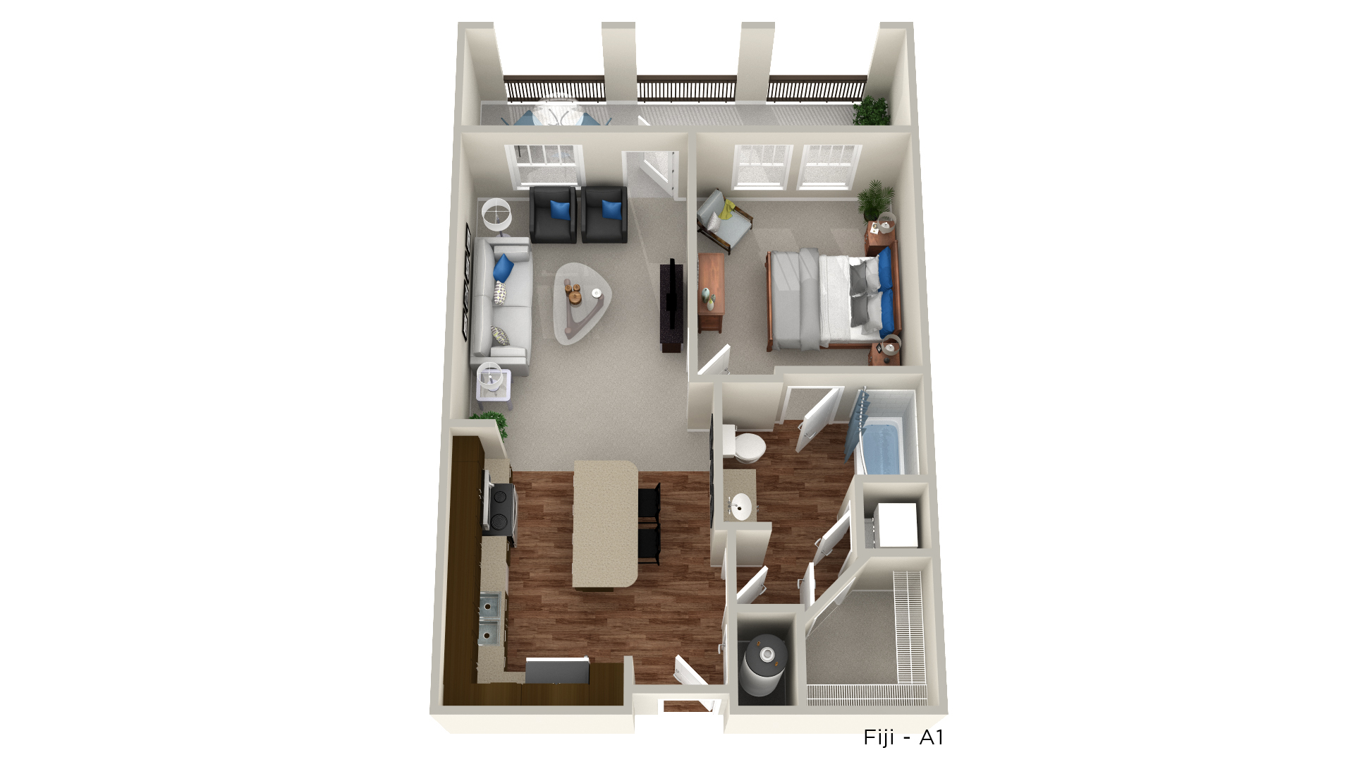Floorplan - Fiji image