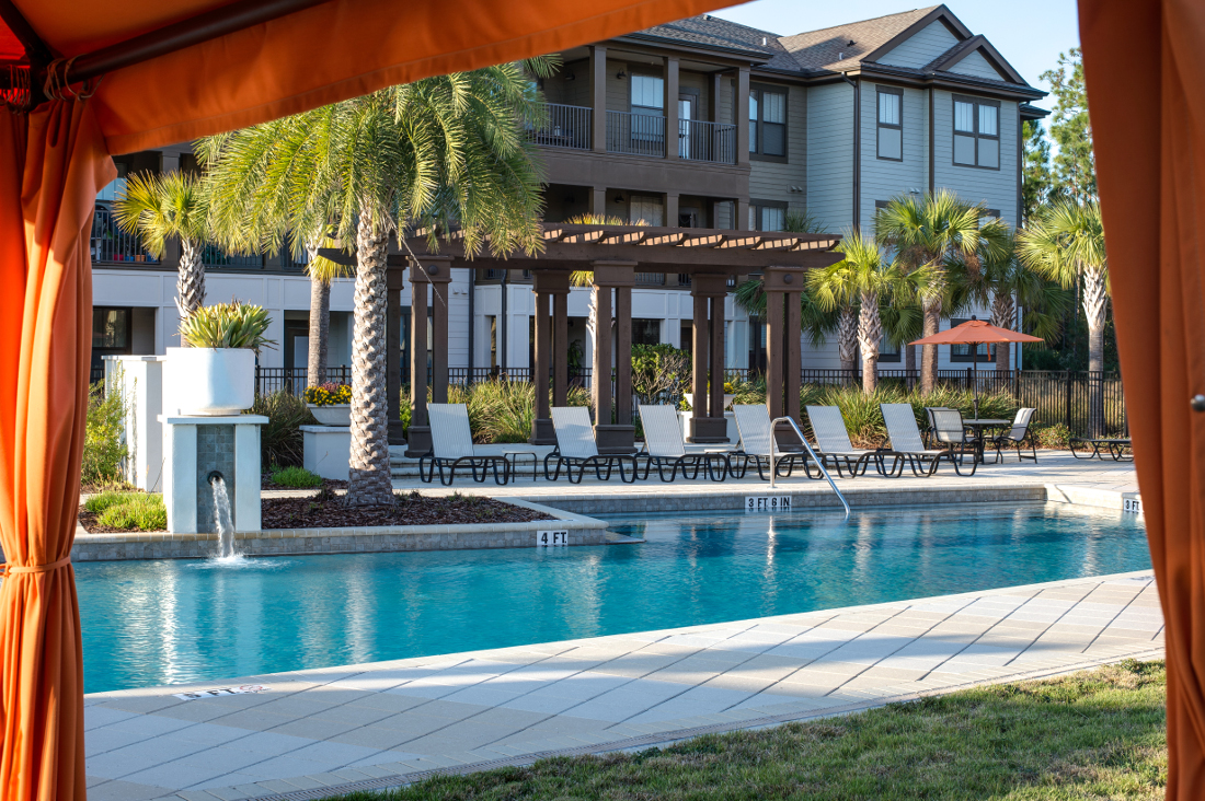 Large Pool at Whitepalm Luxury Apartment Homes in Port Orange, FL