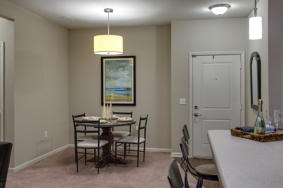 Dining Area at Whitepalm Luxury Apartment Homes in Port Orange, FL