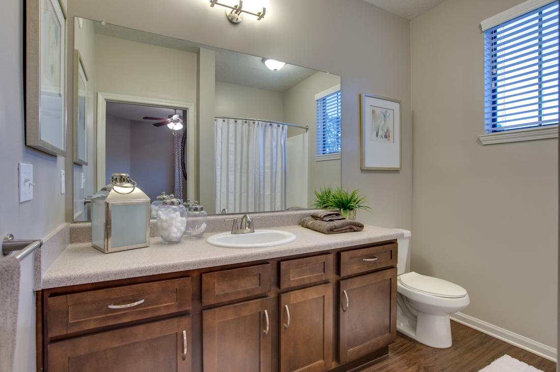 Large Bathroom at Whitepalm Luxury Apartment Homes in Port Orange, FL