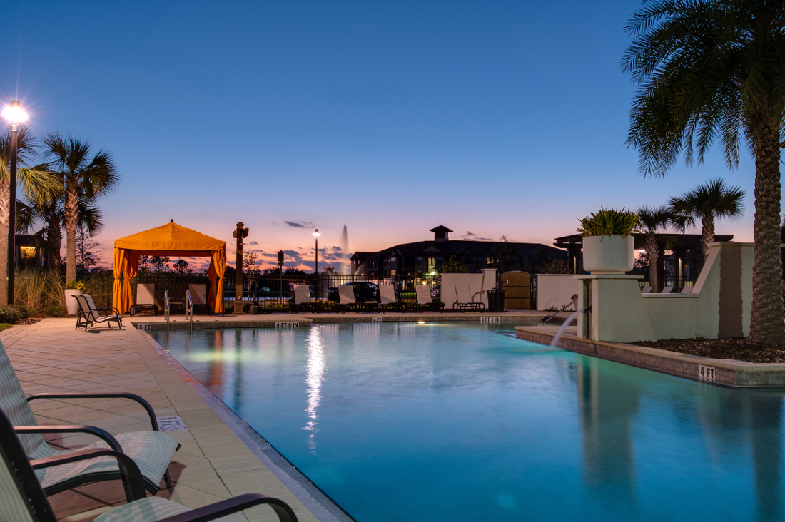 Resort Style Pool at Whitepalm Luxury Apartment Homes in Port Orange, FL