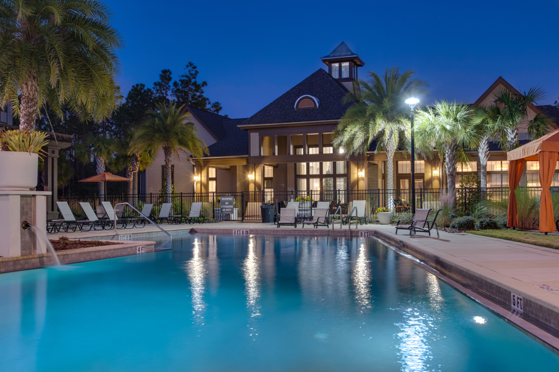 Sparkling Pool at Whitepalm Luxury Apartment Homes in Port Orange, FL