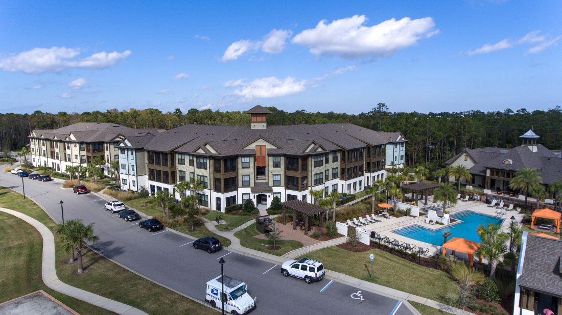 Open Parking at Whitepalm Luxury Apartment Homes in Port Orange, FL