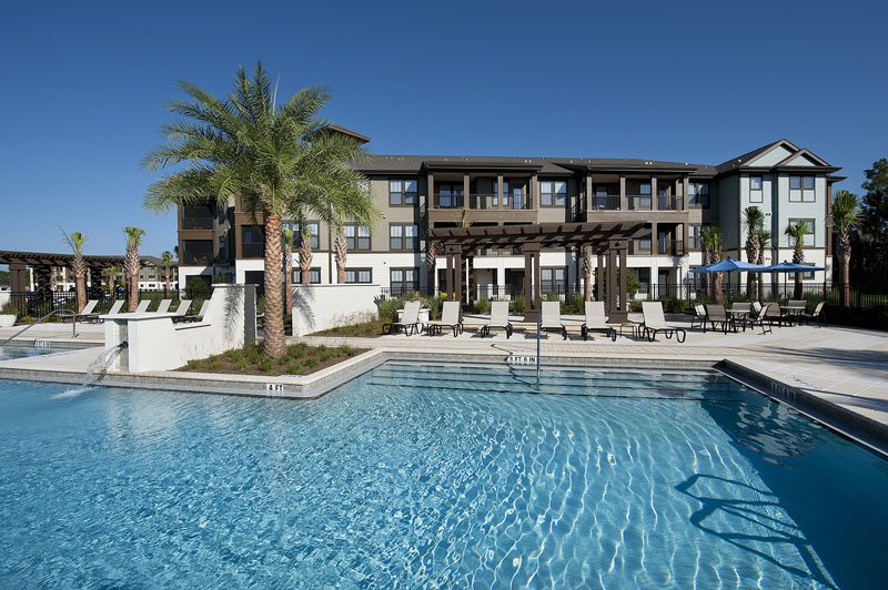 Resort-Inspired Swimming Pool at Whitepalm Apartments in Port Orange, FL