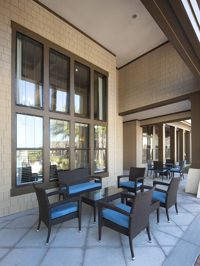 Outdoor Living Room at Whitepalm Apartments in Port Orange, FL