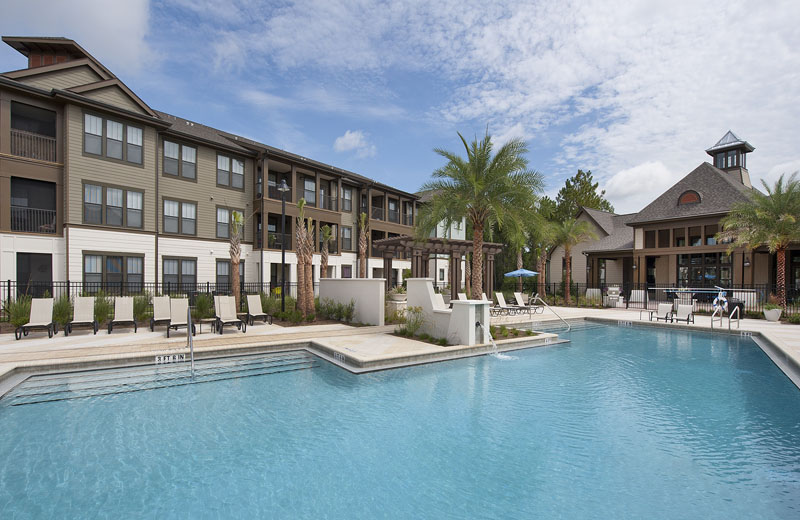 Resort-Style Swimming Pool at Whitepalm Apartments in Port Orange, FL