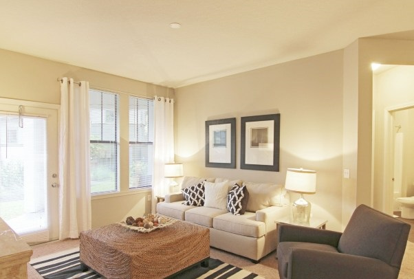 Spacious Living Area at Whitepalm Apartments in Port Orange, FL