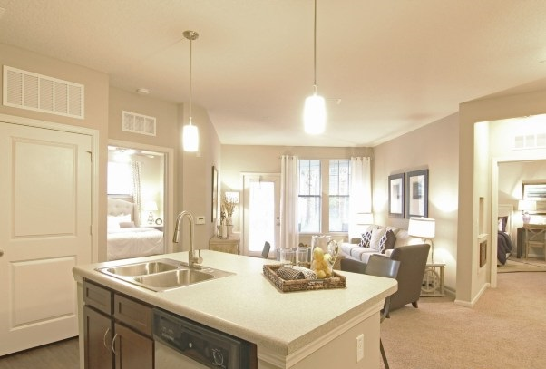 Open and Modern Kitchens at Whitepalm Apartments in Port Orange, FL
