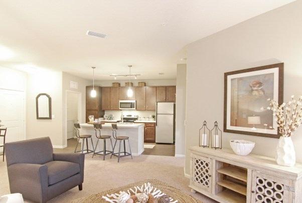Living Area at Whitepalm Apartments in Port Orange, FL