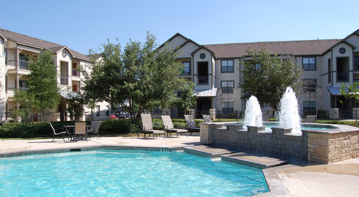 Resort-Style Swimming Pool at White Rock Apartment Homes in San Antonio, Texas