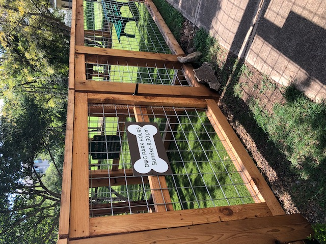 Gated Dog Park at White Rock Apartments in San Antonio, Texas