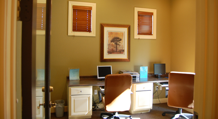 Professional Business Center at White Rock Apartment Homes in San Antonio, Texas