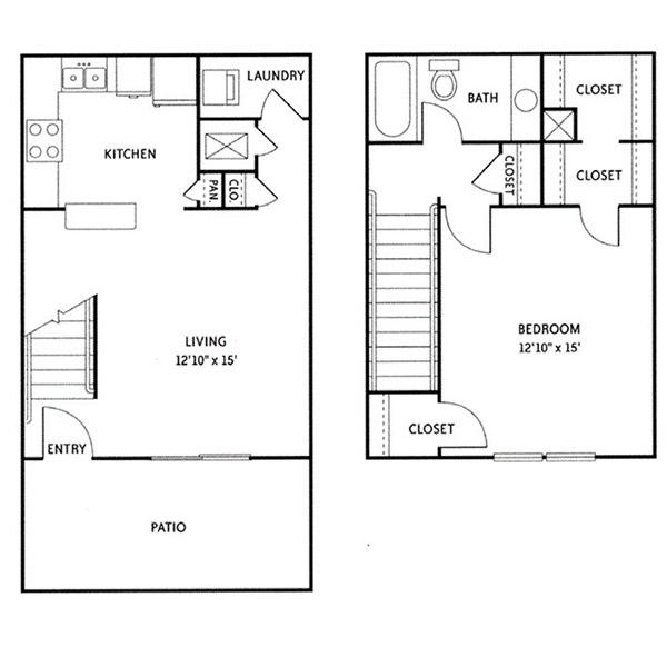 Floorplan - Andover (A2) image