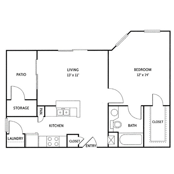 Floorplan - Andrews (A3) image