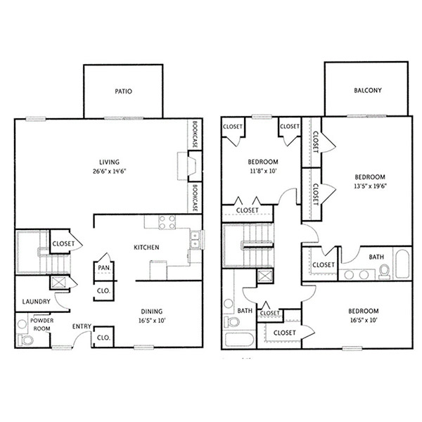 Floorplan - Cambridge (C3) image