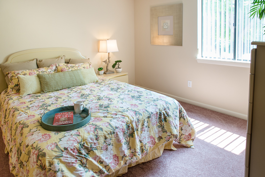Large Bedrooms at Willow Pond Apartments and Townhouses in Penfield, New York