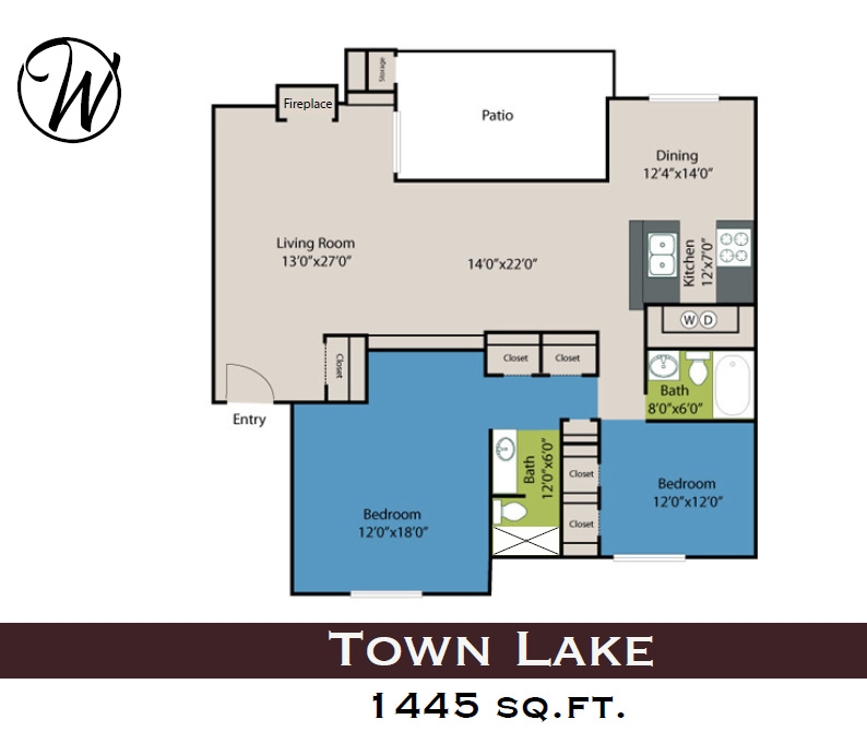 Floorplan - Town Lake image