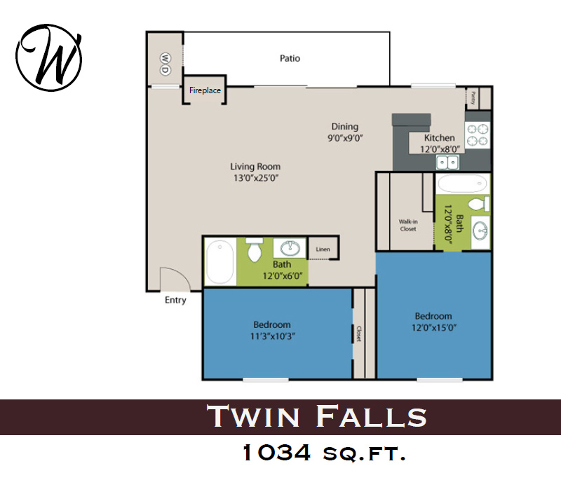 Floorplan - Twin Falls image