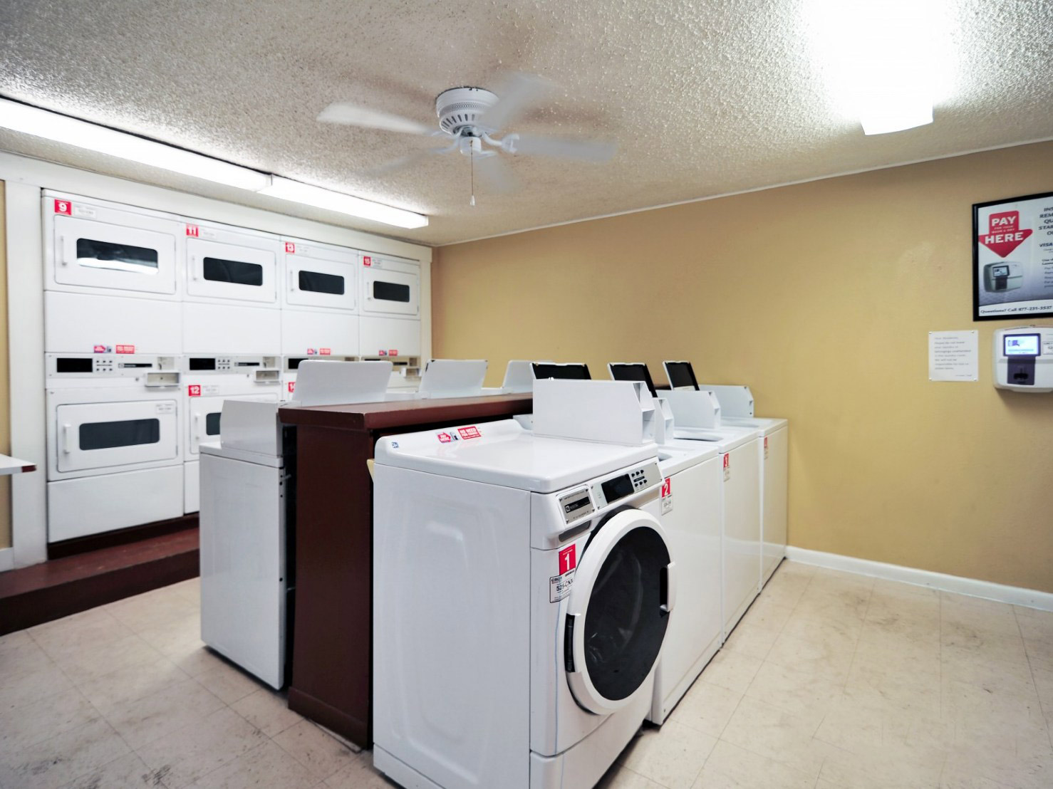 Laundry Facility at Windsor at Barton Creek Apartments in Austin, TX
