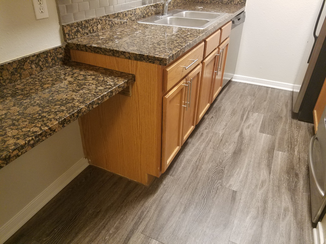 Plenty of Kitchen Counterspace at Waters at Barton Creek Apartments in Austin, TX